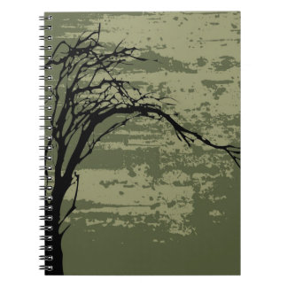 Abstract Tree Art Note Book