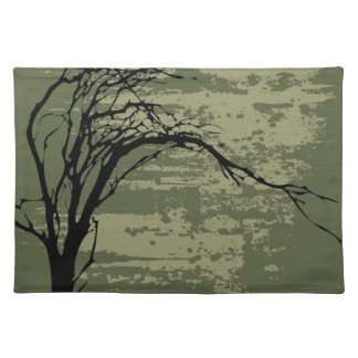 Abstract Tree Art Placemat
