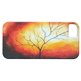 Abstract Tree Canvas Art iPhone 5 Case