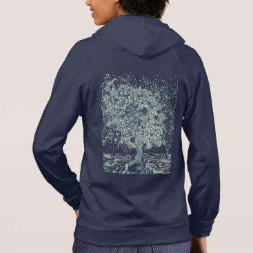 Art Themed Abstract Tree Hoodie
