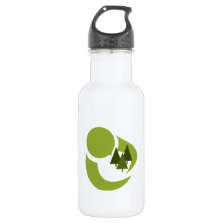 Abstract Tree Hugger 16 oz. 18oz Water Bottle