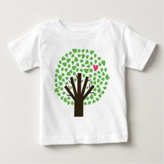 Abstract Tree Hugger Baby T-Shirt