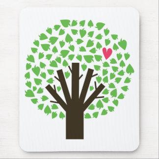 Abstract Tree Hugger Mousepads