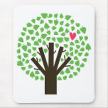 Abstract Tree Hugger Mousepads