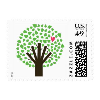 Abstract Tree Hugger Stamps