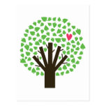 Abstract Tree Hugger Postcards
