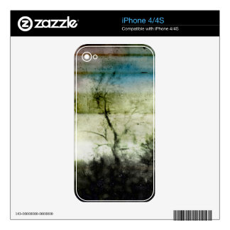 Abstract Tree iPhone Skin Skin For The iPhone 4S