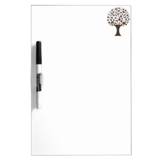 Abstract Tree Made of Various Items Dry-Erase Whiteboards