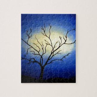 Abstract Tree - Modern Art Jigsaw Puzzle