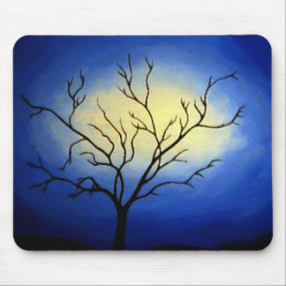 Abstract Tree - Modern Art Mouse Pad