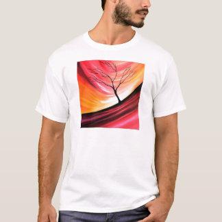 Abstract Tree - Modern Art T-Shirt