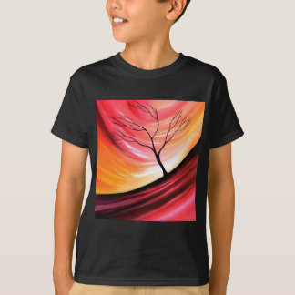 Abstract Tree - Modern Art T-Shirt
