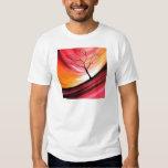Abstract Tree - Modern Art T Shirts