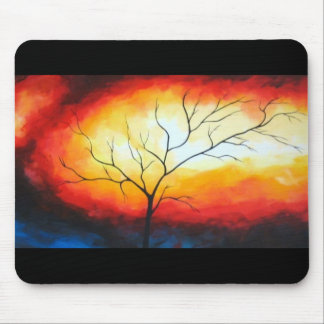 Abstract Tree Mouse Pad