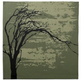 Abstract Tree Napkin