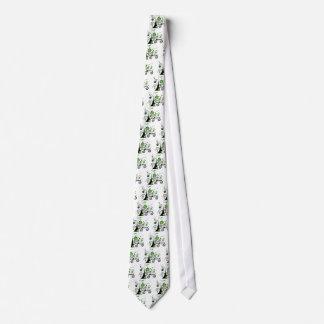 Abstract Tree Neck Tie