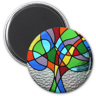 Abstract Tree of Life Magnet