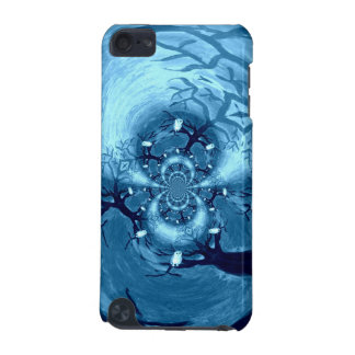 Abstract Tree Owls Art iPod Touch (5th Generation) Cover