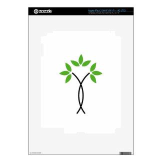 Abstract tree iPad 3 decal
