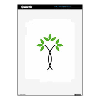 Abstract tree decals for the iPad 2