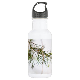 Abstract Tree Stainless Steel Water Bottle