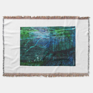 Abstract Tree Throw Blanket