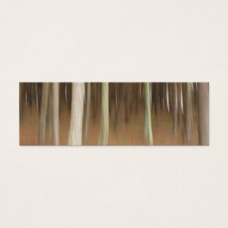 Abstract trees bookmark business card