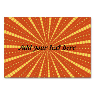 Abstract trendy pattern card