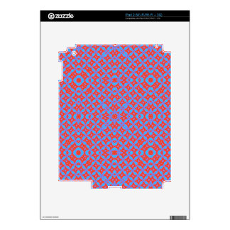 Abstract  trendy pattern decal for the iPad 2