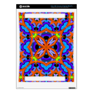Abstract trendy pattern decals for the xbox 360