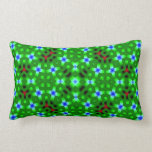 Abstract trendy pattern throw pillow