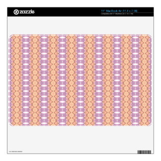 Abstract trendy stylish pattern skin for MacBook