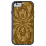 Abstract trendy wood pattern iPhone 6 case