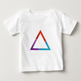 Abstract triangle baby T-Shirt