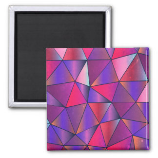 Abstract Triangle Design Magnet