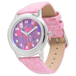 Abstract Triangle Design Wrist Watches