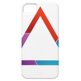 Abstract triangle iPhone SE/5/5s case