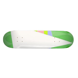 Abstract Triangle Skateboard