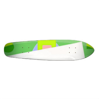Abstract Triangle Skateboard Deck
