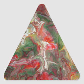 Abstract Triangle Sticker