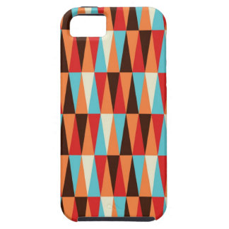 abstract triangle texture iphone case