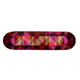 abstract triangle texture Skateboard