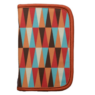 abstract triangle texture Wristlet Planner
