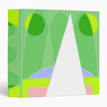Abstract Triangle Vinyl Binder