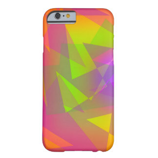 Abstract Triangles and Rectangles Barely There iPhone 6 Case