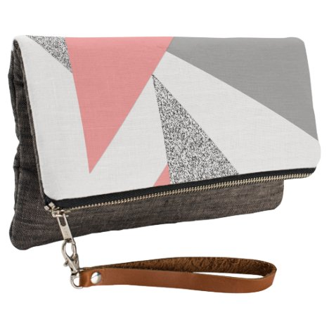 Abstract Triangles Clutch