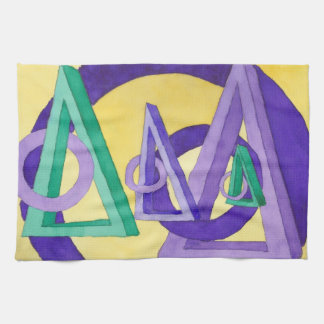 Abstract Triangles Towel