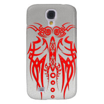 Abstract Tribal Owl Samsung Galaxy S4 Cover