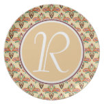 Abstract Tribal Pattern Dinner Plate