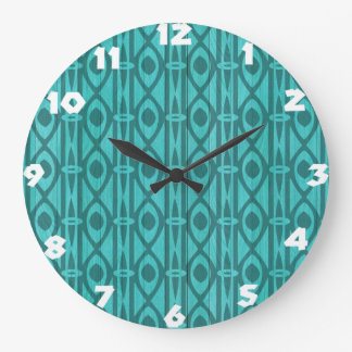 Abstract Tribal Wall Clock